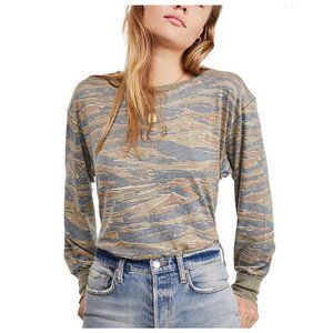Free People Arielle Long-Sleeve T-Shirt NWT